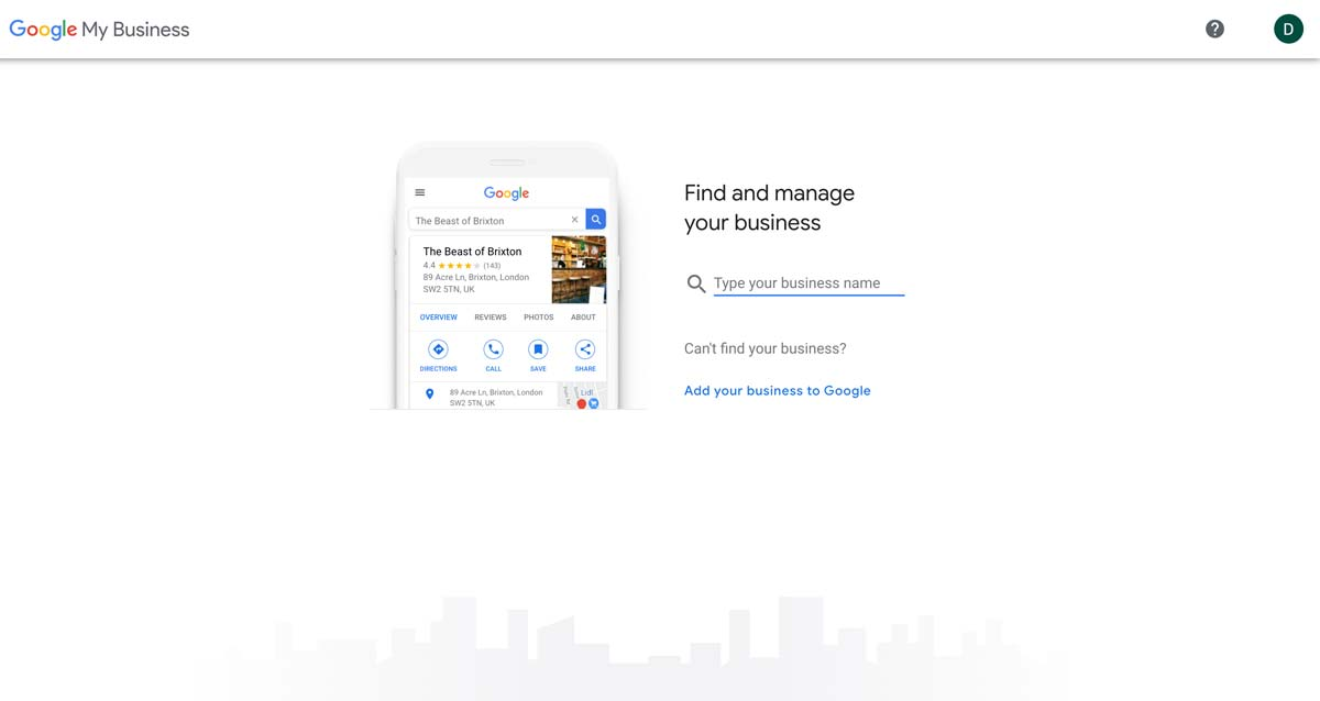 Step by step guide to Google my business.