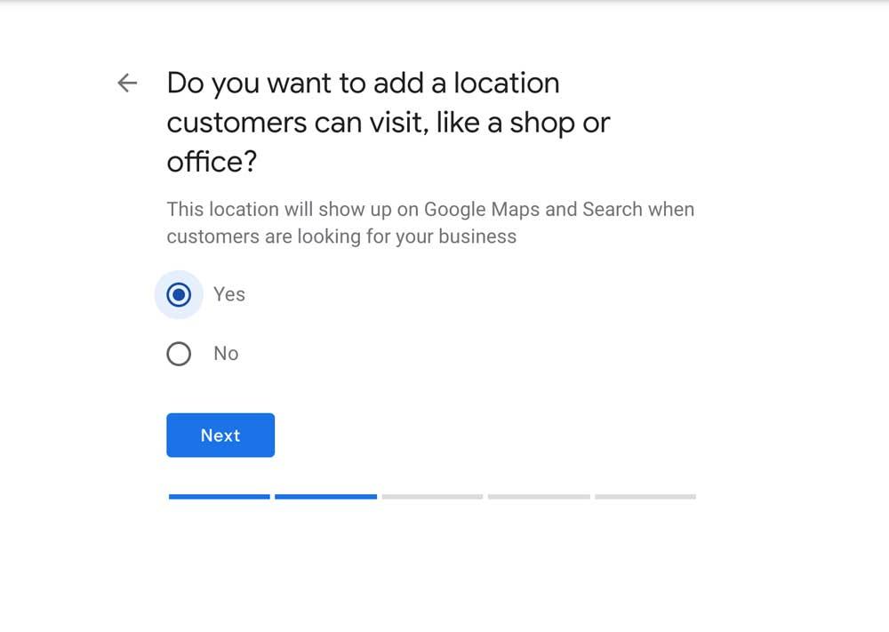 How to setup a Google my business listing