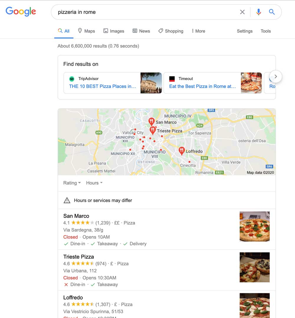 Quick way to appear on the top of search results.